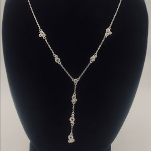 NWT JR TWO Santorini White Topaz Necklace